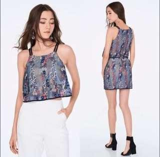 TCL TheClosetLover Atlas Embroidery Top