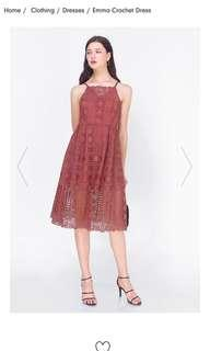 🚚 Fayth Emma crochet dress