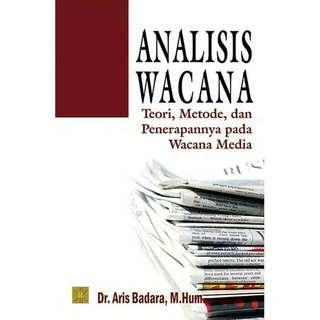ANALISIS WACANA. TEORI, METODE DAN PENERAPANNYA PADA WACANA MEDIA  ORIGINAL  PRENADA