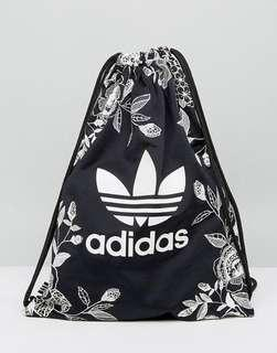 🚚 Adidas Black Drawstring Bag