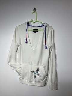 Hurley white jumper