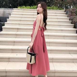 Bare Back Long dress