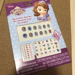 🚚 Kids Cartoon Nail Art Stickers & Nail Gems #1212