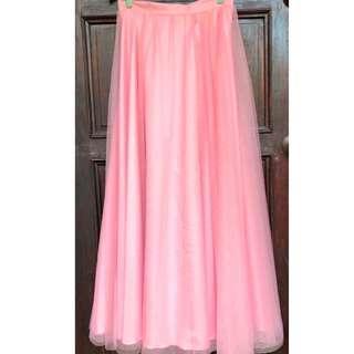 Pink Ball Skirt