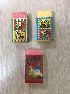 Sanrio Keroppi / Twin star 擦膠