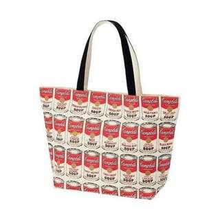 Andy Warhol x Uniqlo 'Campbell's Soup Cans' Tote Bag