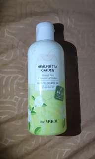 the SAEM - Healing Tea Garden Green Tea Cleansing Water