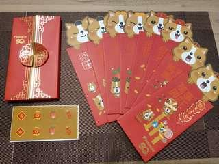 🚚 Daikin year of the dog red packets