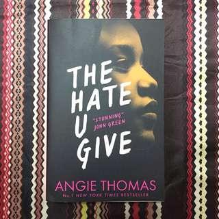 Novel The Hate You Give karya Angie Thomas