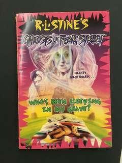 R.L. Stine's Ghosts of Fear Street Novel