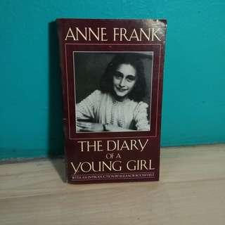 Anne Frank Diary of a Young Girl - Buku second