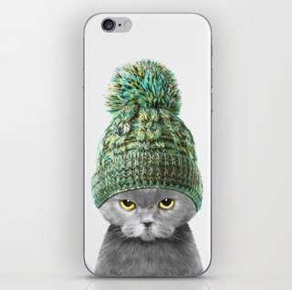 Boby Cat iPhone skin