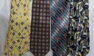 全新西裝領呔 tie