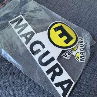 Magura stickers