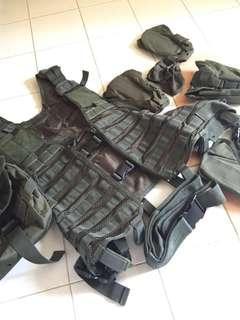 Tactical Combat Vest (Olive Green)