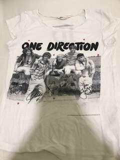 🚚 one direction t-shirt