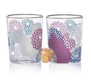 日本直送 Mickey & Minnie 米奇米妮剪影日本製玻璃杯套裝 / Gift Set