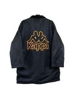 🚚 古著kappa大logo鋪毛防風外套