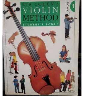 Eta Cohen's Violin Method (Student's Book 1)