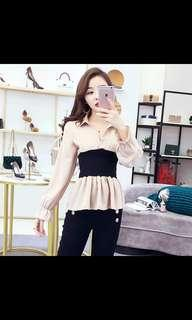 [PO #82] Casual long-sleeve top