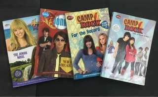 Disney: Hannah Montana, Jonas Brothers & Camp Rock Series Books