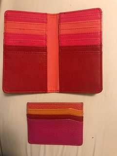 Card organizer wallet