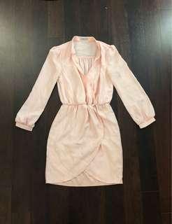 Peach dress tobi