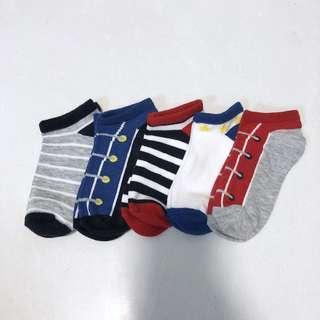 🚚 BM 5x Toddler Socks