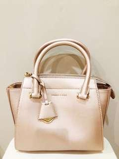 Charles & Keith Original Gold Bag NEW