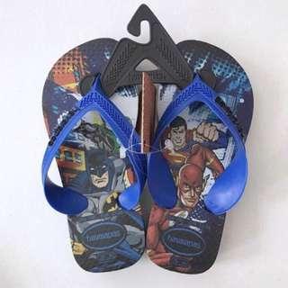 🚚 BNWT 25/26 Havaianas Superheros Flip Flops