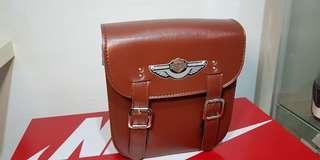 Harley Brown Saddle bag