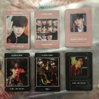 WTS jinyoung full set, woojin and minhyun undivided