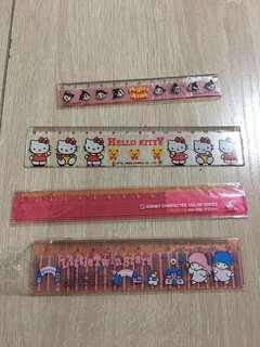 Hello Kitty / Twinstar / 鉛芯筆/間尺