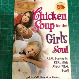 🚚 Chicken Soup for the Girl's Soul Scholastic 心靈雞湯 女孩 原文書