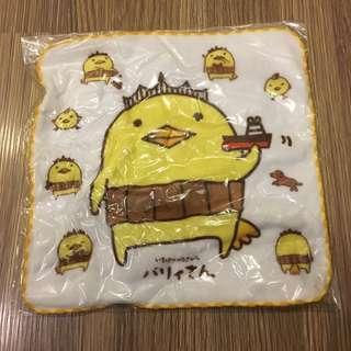 🚚 *全新* 日本製 100%棉 小方巾