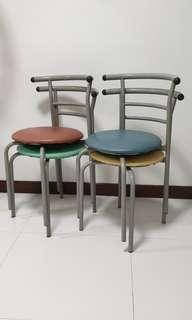 Dining Metal cushion Dining Chairs