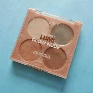 L'oreal True Match Lumi Glow Nude - SWATCHED, DAMAGED
