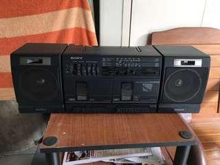 Clearance Sale $20  Vintage Cassette And Radio