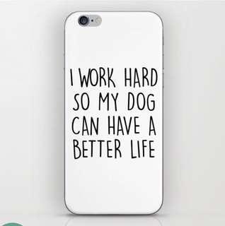 Better Life iPhone Skin