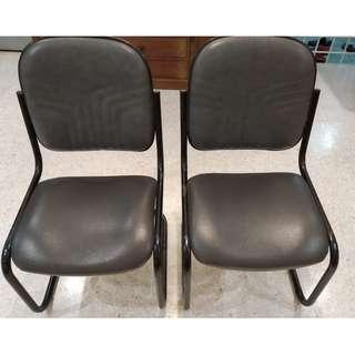 Steel spring framed chairs