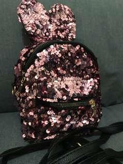Sequins Kids Bag