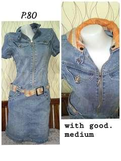 80p. Denim Dress (med.)