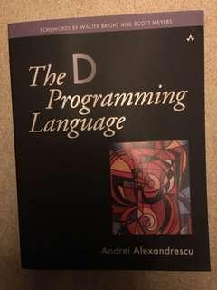 🚚 MINT The D Programming Language FREE SHIPPING by Andrei Alexandrescu