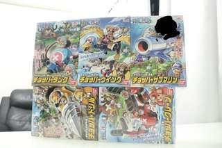 🚚 One Piece Tony Chopper set