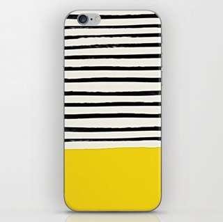 Sunny Stripes iPhone Skin