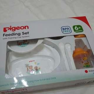 Reprice! PIGEON Feeding set with Training cup system NETT PRICE