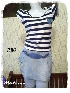 80p. Denim dress