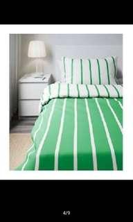 IKEA set quilt cover SINGLE