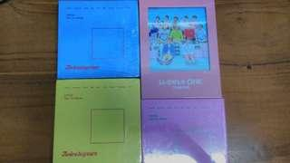Ready Stock (No poster) TWICE AND WANNA ONE SEALED ALBUM
