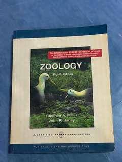 Zoology 8th edition miller/harley
